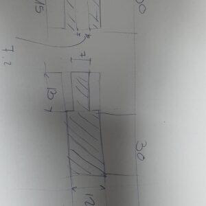 """ציר ריתוך באורך 60 מ""""מ בקוטר 12 מ""""מ"""