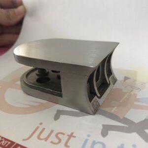תופסן זכוכית גב עגול לצינור בקוטר 50.8